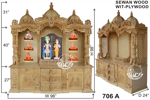 Vwc India  Wooden Temple